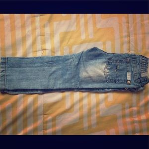 7 For All Mankind baby girl skinny jeans